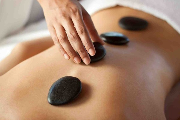 Hot Stone Herbal Compress Massage