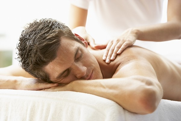 The de-stress massage for your back neck and shoulders