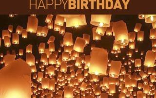Spa Newsletter Happy Birthday