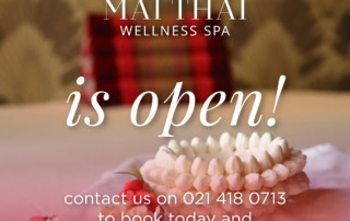 Spa Cape Town open after lockdown