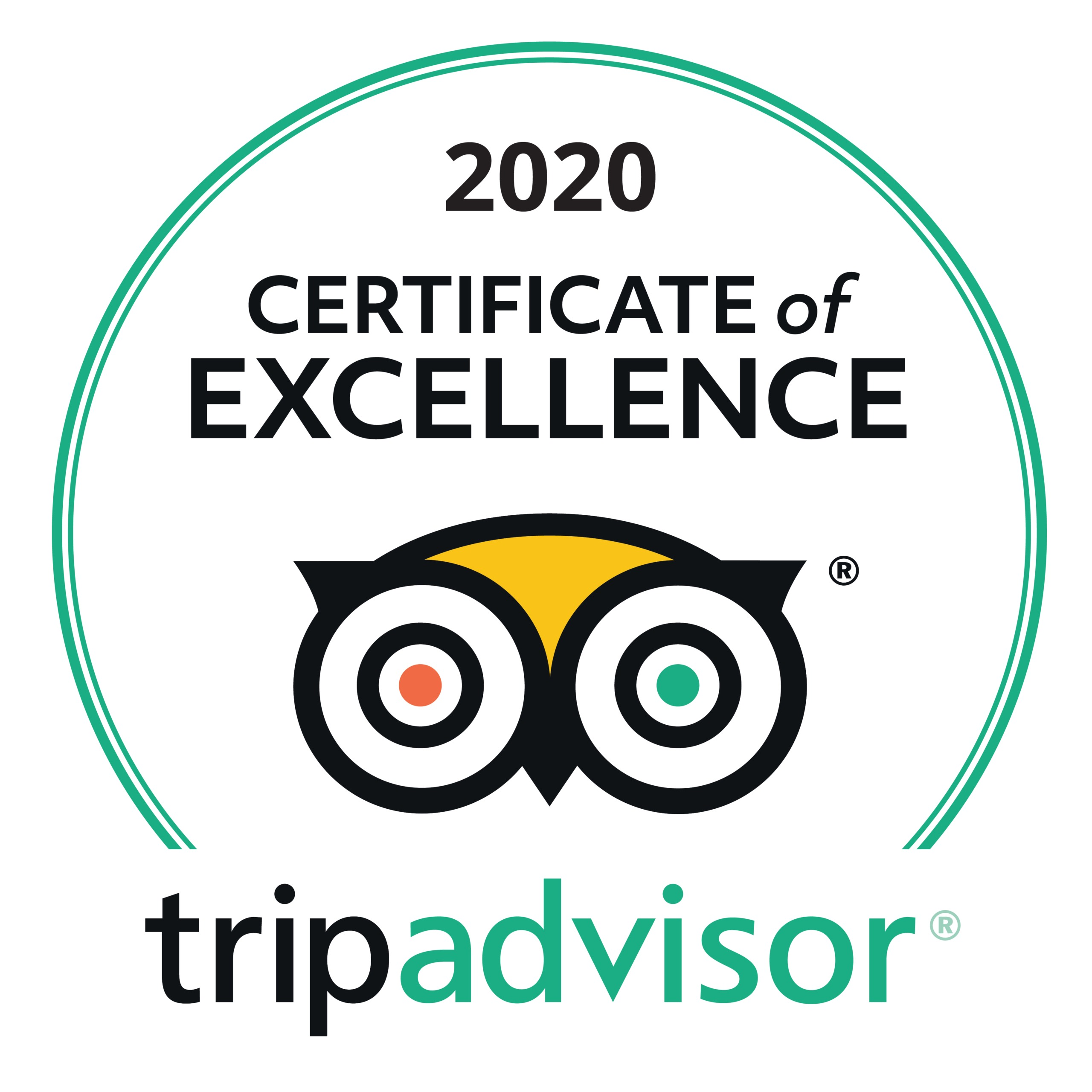 Tripadvisor 2020 Certificate of Excellence Spa South Africa