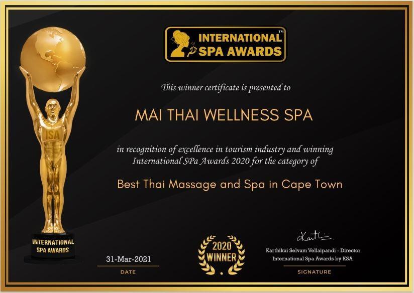 International Best Spa Award