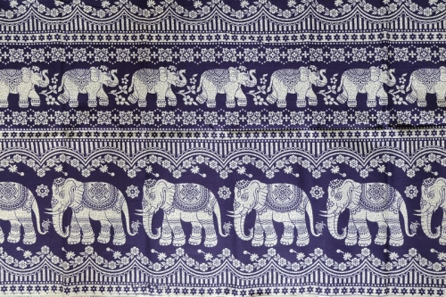 thai elephant pants fabric
