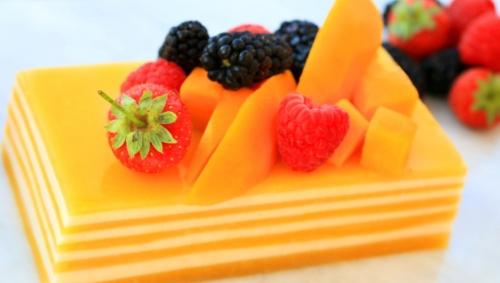 mango jelly cake